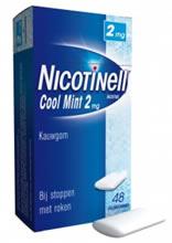 stoppen met roken nicotinell kauwgom