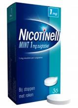 stoppen met roken nicotinell zuigtabletten